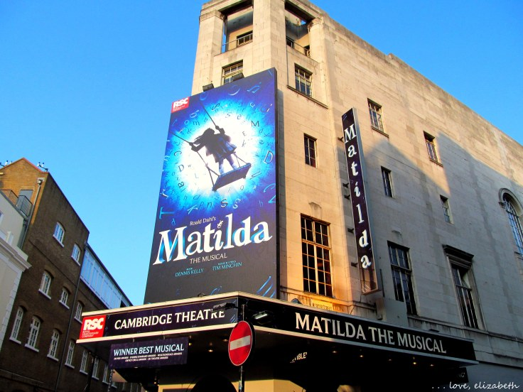 "At five pounds per student ticket, ""Matilda"" was a great way to stick to our budget while getting a little bit of high culture and making some new friends to discuss the play with."