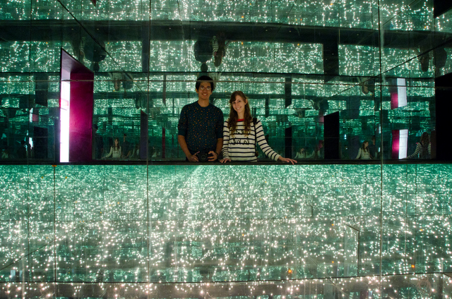 The Infinity Room at the Armstrong Museum