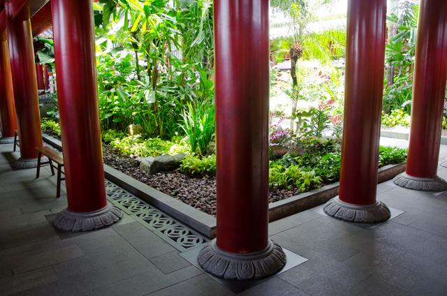 Buddhist Prayer Garden