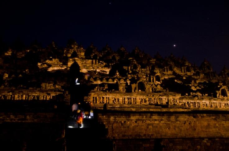 Pre-sunrise Borobudur