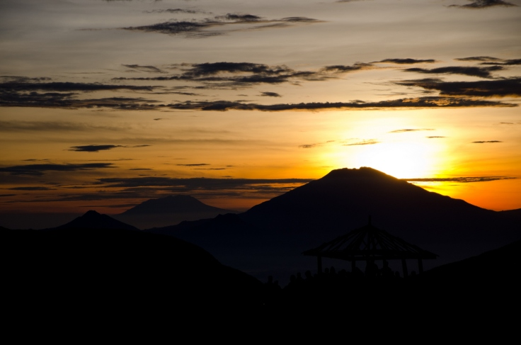 Dieng Sunrise