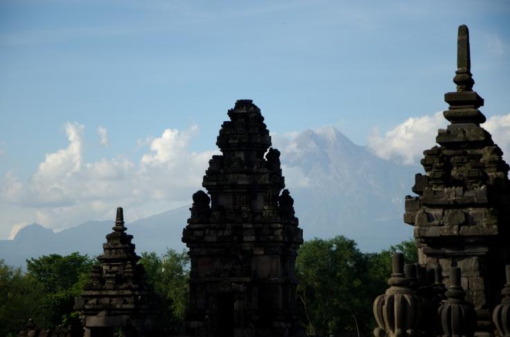 Prambanan Scenery