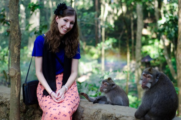 Elizabeth and the Monkeys