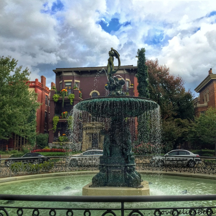 Old Louisville Fountain