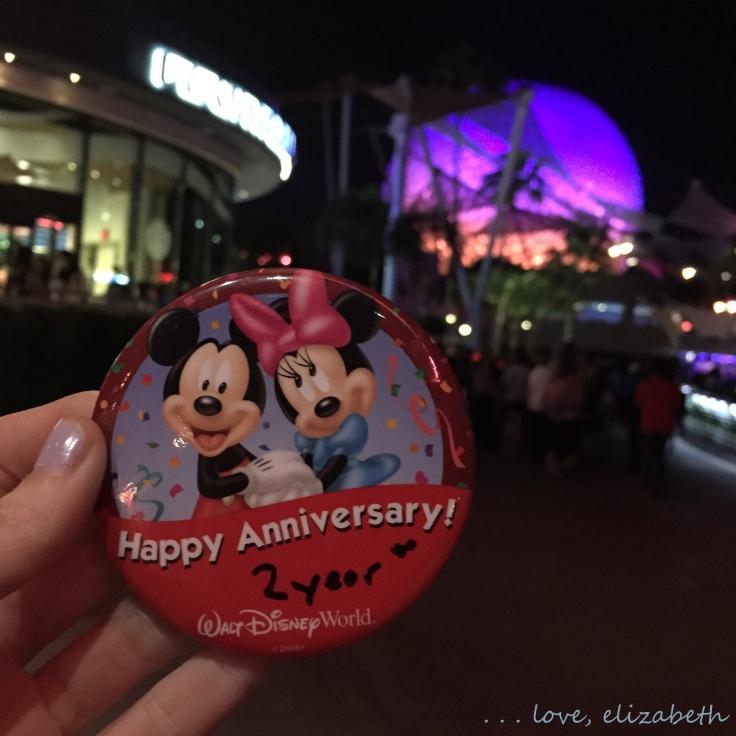 Disney anniversary!