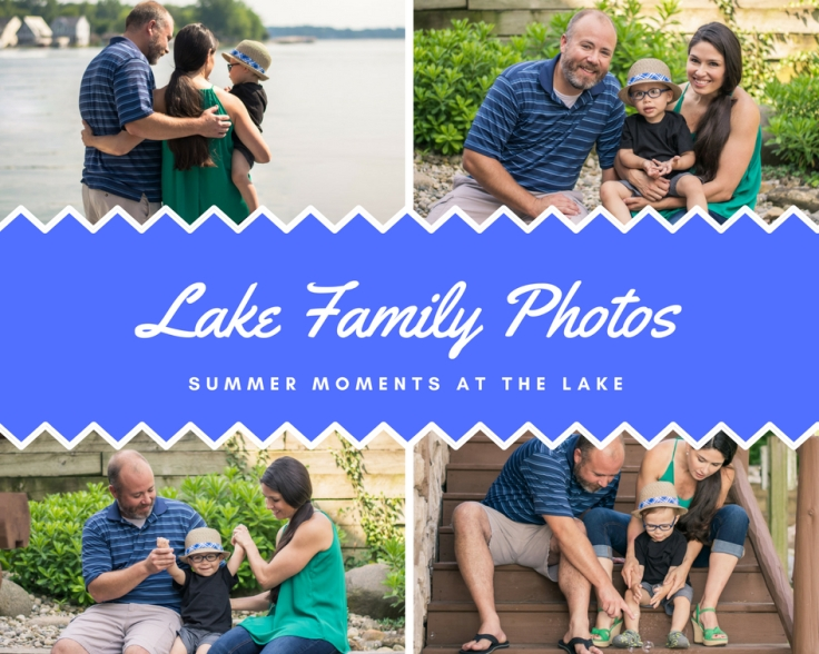 Family Photos at the Lake